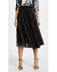 Loyd/Ford | Two Layer Pleated Skirt | Lyst