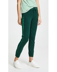 Pam & Gela - Joggers With Velvet Stripes - Lyst