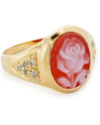 Jacquie Aiche - Ja Small Rose Ring - Lyst