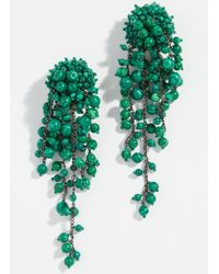 Oscar de la Renta - Beaded Earrings - Lyst