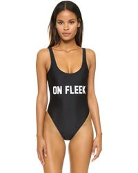 Private Party - On Fleek One Piece Bathing Suit - Lyst