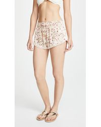 Paloma Blue - Floral Shorts - Lyst