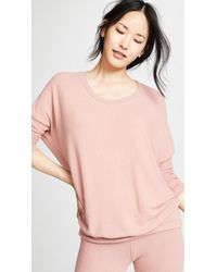 Eberjey - The Cozy Time Top - Lyst