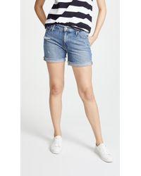 Joe's Jeans - Short Cuffed Bermuda Shorts - Lyst
