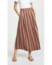 Forte Forte - Metallic Long Skirt - Lyst