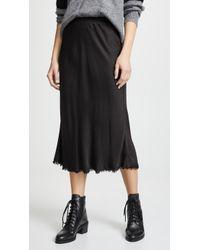Nation Ltd - Mabel Bias Cut Slip Skirt - Lyst