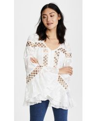 We Are Kindred - Stephanie Oversized Blouse - Lyst
