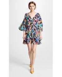 Saloni - Nikki Mini Dress - Lyst
