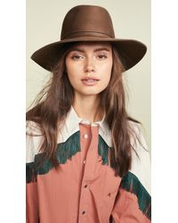 Janessa Leone - Billie Fedora Hat - Lyst