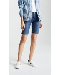 3x1 - Selvedge Knee Shorts - Lyst