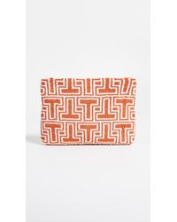 Tory Burch - Towel T Large Cosmetic Case - Lyst
