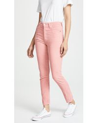 Citizens of Humanity - Olivia High Rise Slim Ankle Jeans - Lyst