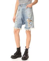 R13 - Twister Shorts - Lyst