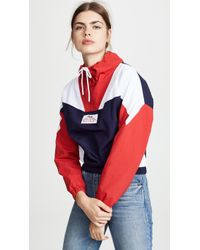 Fila - Tessa Funnel Neck Top - Lyst