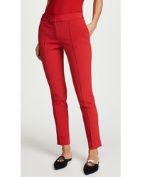 Yigal Azrouël - Red Trousers - Lyst