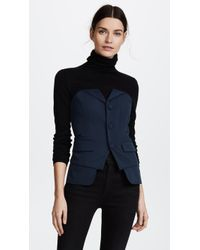 Laveer - Bustier Suiting Top - Lyst
