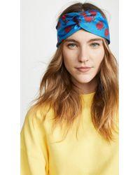 KENZO - Roses Turban Headband - Lyst