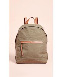 Madewell - Canvas Classic Backpack - Lyst