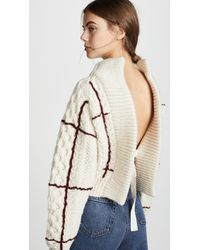 Toga Pulla - Back Lace Pullover - Lyst