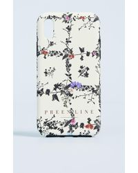 Preen By Thornton Bregazzi - Preen Line Floral Phone Case - Lyst