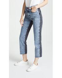 Stella McCartney - Straight Leg Jeans - Lyst