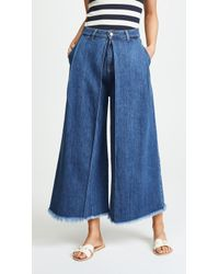 PRPS - Javelin Voluminous Cropped Jeans - Lyst