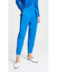 Cedric Charlier - Cropped Trousers - Lyst