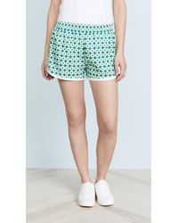 Tory Sport - Printed Running Shorts - Lyst