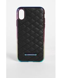 Rebecca Minkoff - Quilted Love Oil Slick Iphone X Case - Lyst
