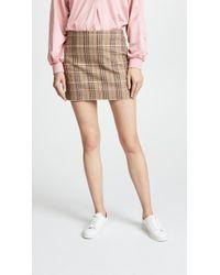 Alice + Olivia - Elana Miniskirt - Lyst