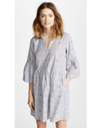 Cooper & Ella - Suze Shirting Dress - Lyst