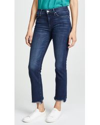 Mother - The Rascal Ankle Chew Jeans - Lyst