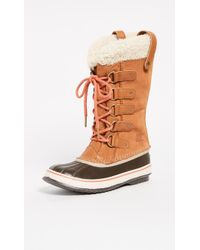 Sorel - Joan Of Arctic Shearling Boots - Lyst