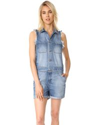 PRPS - Compact Mini Mechanic Overalls - Lyst
