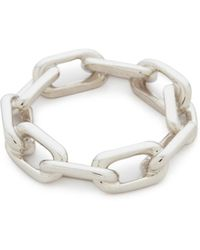 WALTERS FAITH - Saxon Thick Chain Link Ring - Lyst