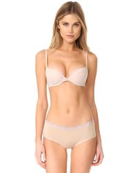 Natori - Pristine Push Up Plunge Convertible Bra - Lyst
