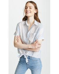 Madewell - Stripe Central Shirt - Lyst