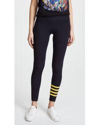 Sundry | Stripes Yoga Leggings | Lyst