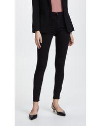 AG Jeans - Superior Stretch Farrah High Rise Jeans - Lyst