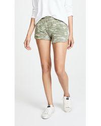 Monrow - Tonal Camo Lounge Shorts - Lyst