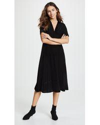 Shoshanna - Lakewood Velvet Dress - Lyst