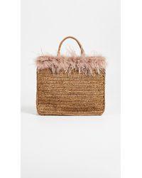 Loeffler Randall - Raffia Travel Tote Bag - Lyst