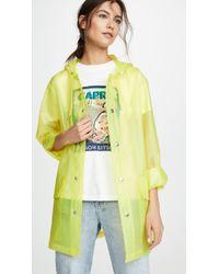 Rains - Ltd Short Hooded Coat - Lyst