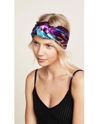 Jennifer Behr | Marin Turban Headband | Lyst