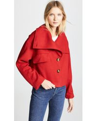 Line & Dot - Belle High Collar Jacket - Lyst