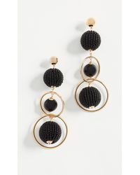 Kate Spade - Beads And Baubles Statement Earrings - Lyst