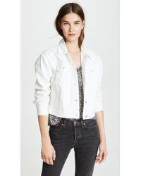 Madewell - The Boxy-crop Jean Jacket - Lyst