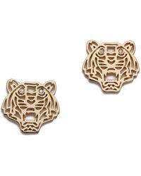 KENZO - Mini Tiger Earrings - Lyst