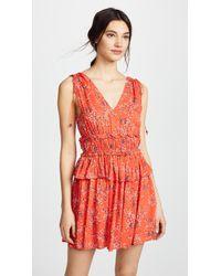 Line & Dot - Ilayda Mini Dress - Lyst
