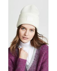 0505bcf7485 Lyst - Acne Studios Pansy S Face Hat in Black